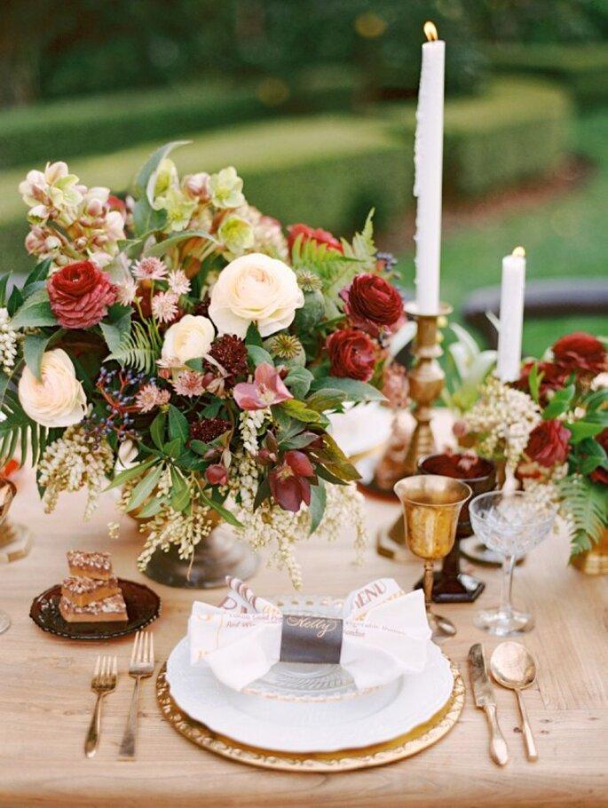 Выбрать цветовую гамму свадьбы: 10 советов от Zankyou - Marisa Holmes