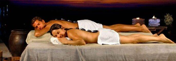Masajes relajantes previos a la vispera de la boda