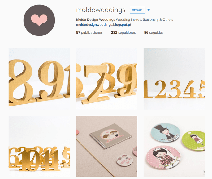 Instagram Molde Design Weddings