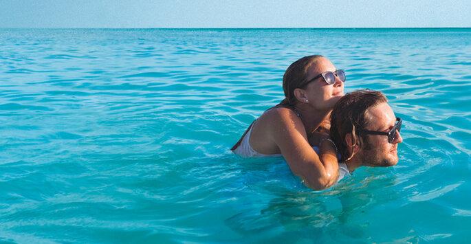 Las playas de aruba son ideales para el romance y el relax. Foto: www.es.aruba.com