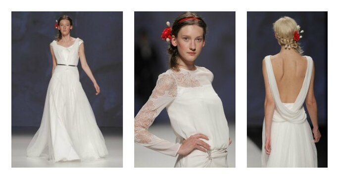 Свадебные платья Victorio & Lucchino. Foto: Barcelona Bridal Week
