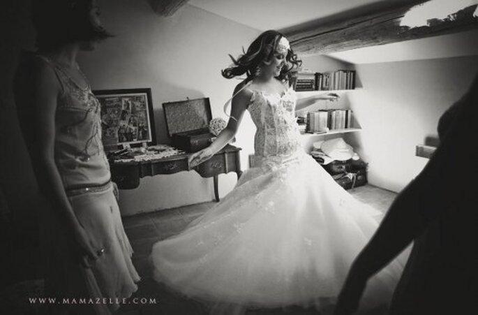 Abito da sposa. Foto di Mélissa Lenoir ©