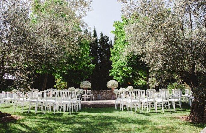 6 id es styl es pour un mariage 100 handmade et personnalis for Realiser un beau jardin