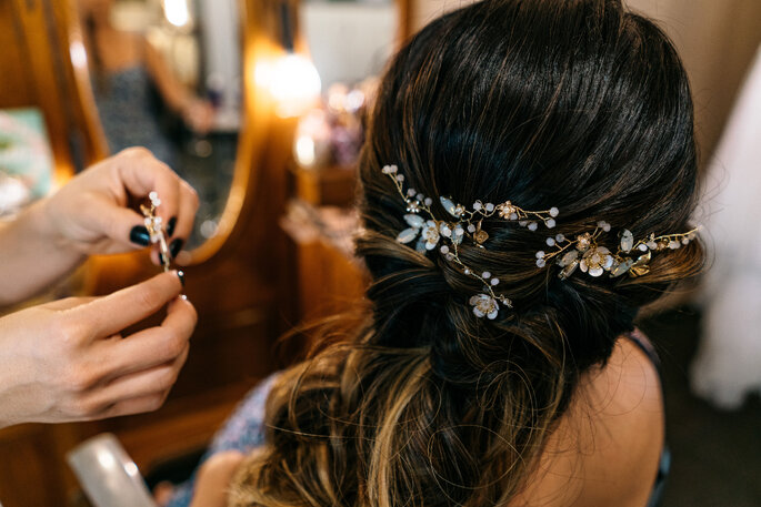Acessório de cabelo da noiva: Baroque - Foto: Ricardo Jayme - Wedding & Love Photo