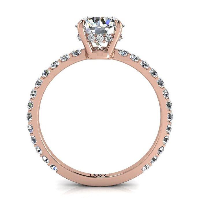 alliances diamants et carats pour femme