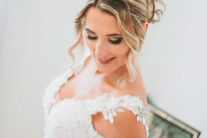 Noiva de Noémia Pereira Makeup