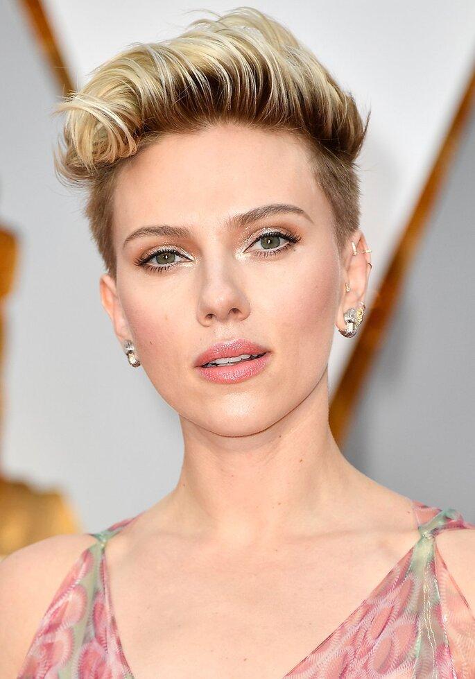 Boy cut de Scarlett Johansson