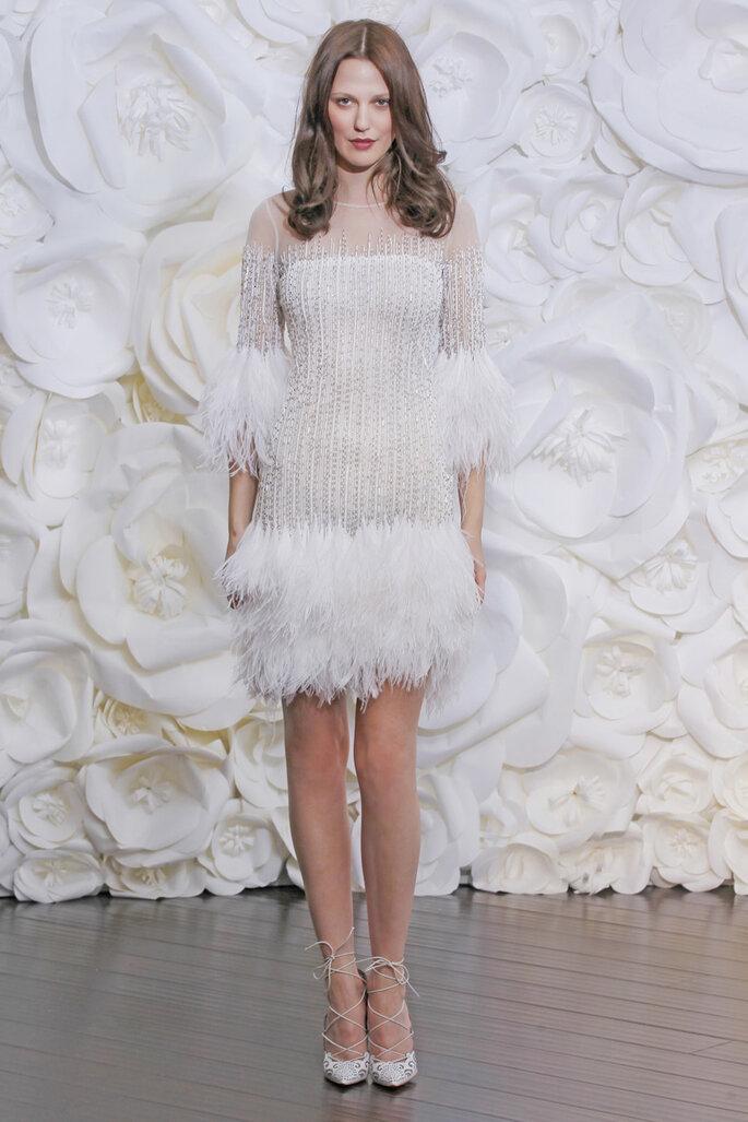 Las tendencias más grandiosas en vestidos de novia 2015 - Naeem Khan Oficial