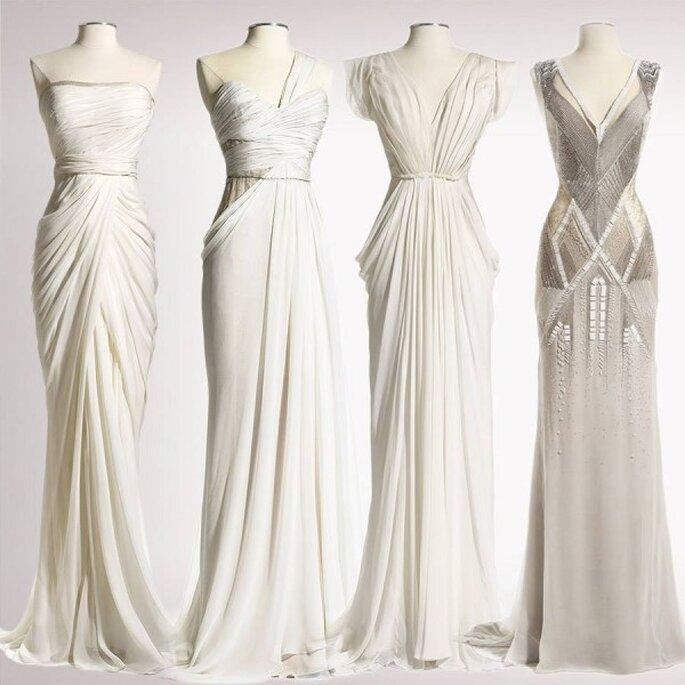 Vestidos de novia Ready To Wear para una novia romántica - Foto J Mendel