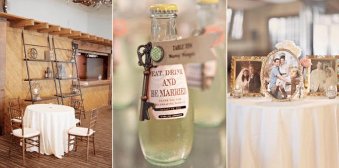 Estilo de una boda con tendencia vintage - Foto Glass Jar Photography