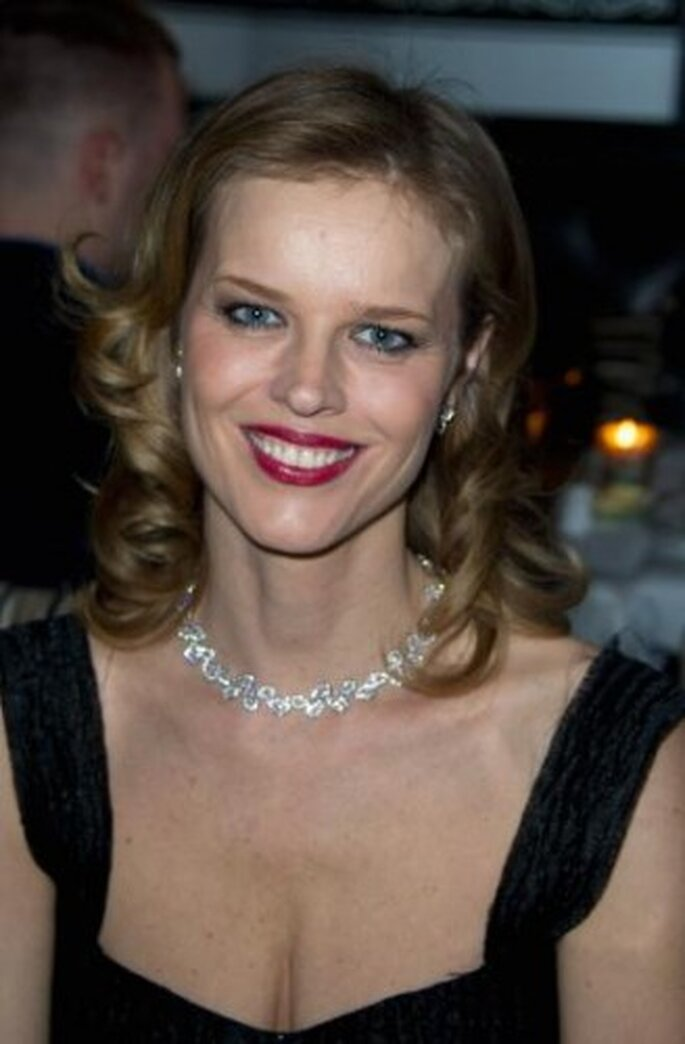 Eva Herzigova, Montblanc Princesse Grace De Monaco - VIP Dinner. Foto de Image.net