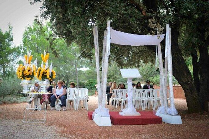 L'organisation de cérémonies laïques : Manue Rêva en a fait sa spécificité