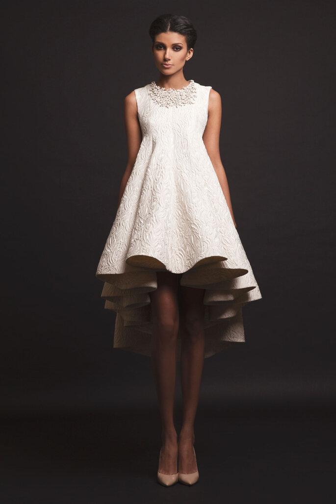 8cea91572c Vestidos mullet para noiva e convidadas  apaixone-se pela assimetria ...