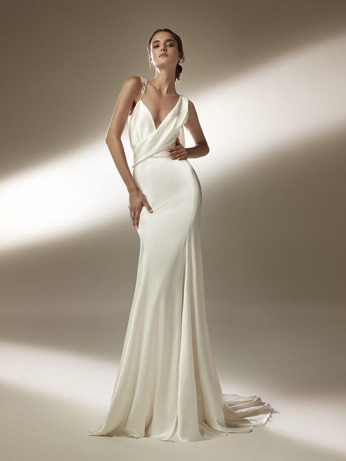 Robe de mariée sirène sensuelle