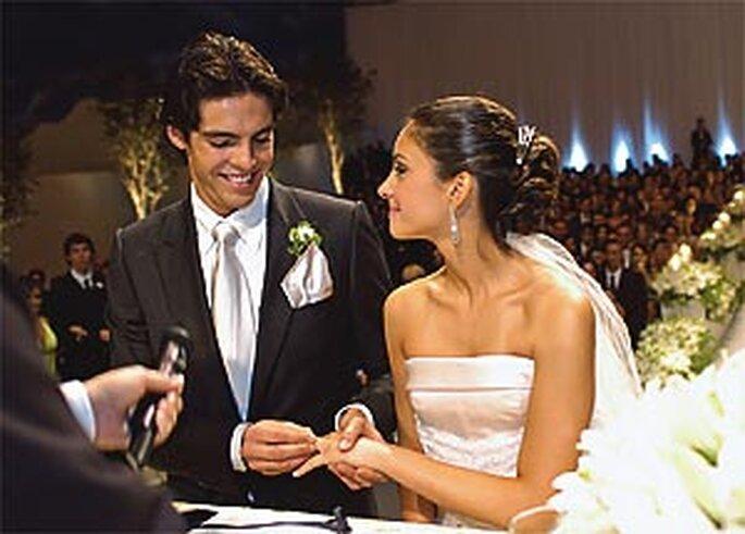 Boda de Kaká y Caroline Celico (diciembre 2005)