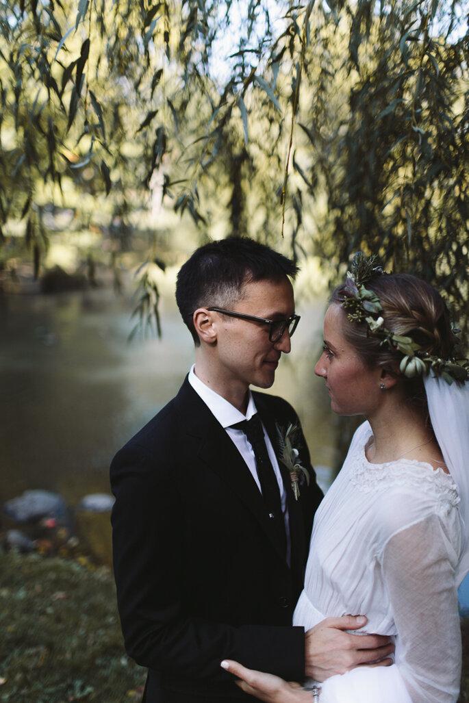 Un mariage très intime. Photo: Karen Kristian Photographer