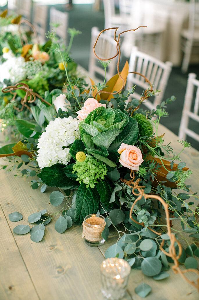 Tendencias extraordinarias de flores para bodas 2015 - Erin Jean Photography
