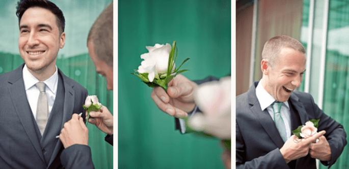 Elige las flores que hagan una armonía perfecta con tu look - Foto Cotton Candy Weddings