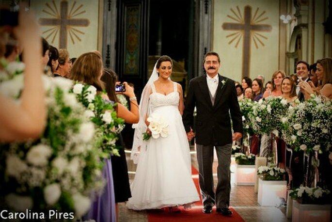 Formalitäten für die kirchliche Trauung. Foto: Carolina Pires