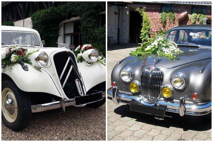 Très Des voitures de prestige pour un mariage vintage avec Location  CT61