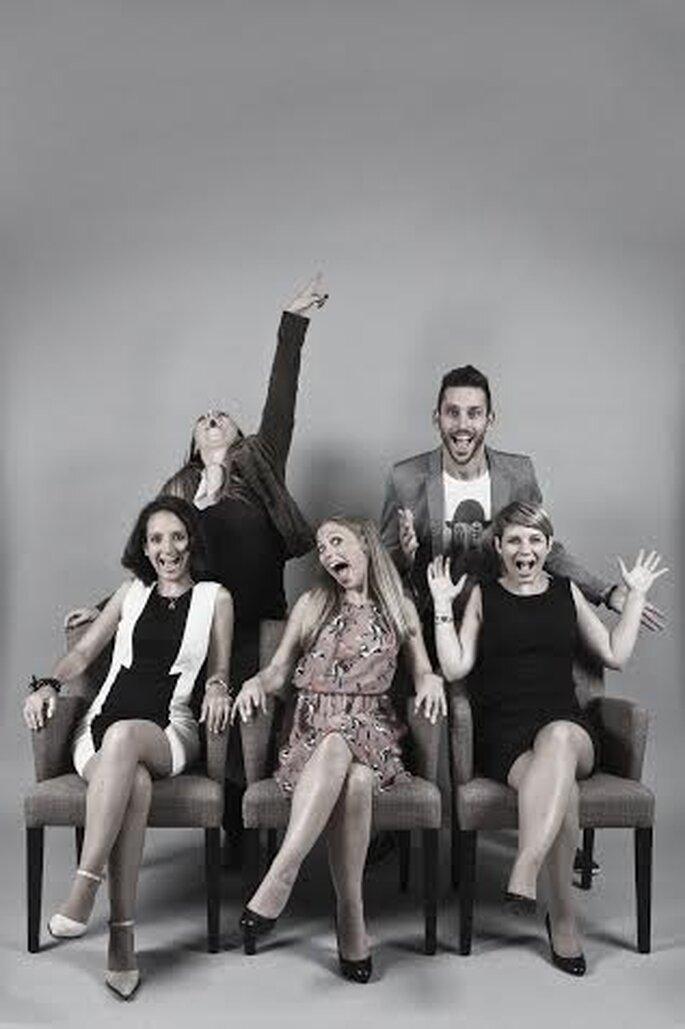 Label' Emotion : l'équipe au grand complet !
