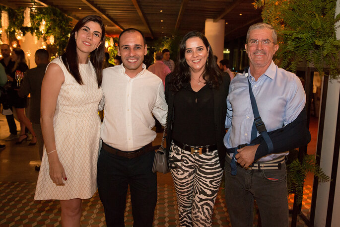 Raquel Abdú, Tissi Balboa, Simone Tostes e Murilo da Two ligths