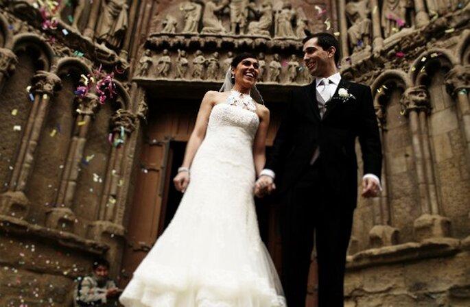 Die ökumenische Trauung: die Alternative für Ihre Hochzeit, damit der Traum von der kirchlichen Hochzeit nicht platzt bei verschiedenen Konfessionen. Foto: Roberto Ramos.