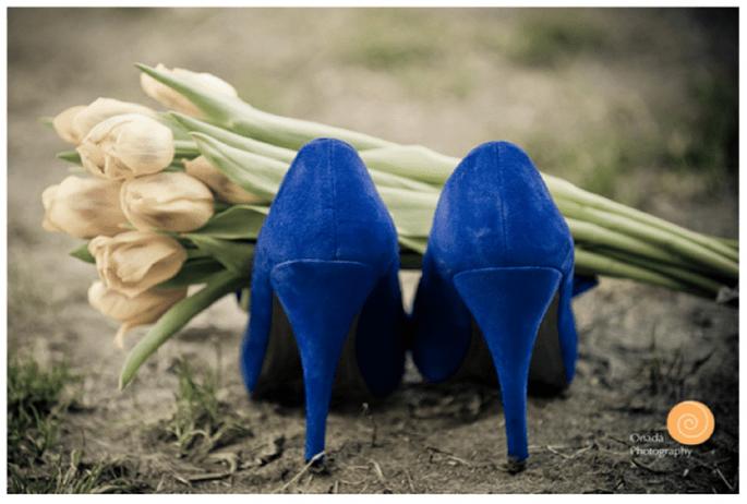 Presume tus increíbles zapatos de novia en lindas tomas - Foto Onada Photography