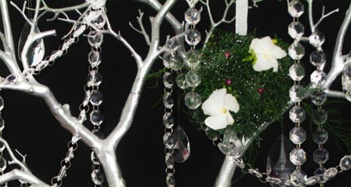 Arbre de cristaux thème champêtre - Arbres-cristaux.com