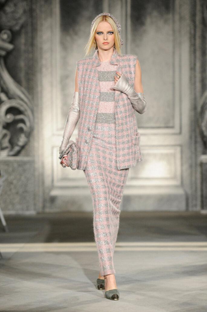 Kostümähnlich ist dieses Herbst-Outfit von Chanel – Foto: Chanel Otoño Invierno 2013