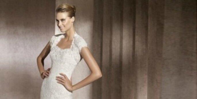 Robes de mariée sirène 2012 : élégantes et sensuelles. Photo : Pronovias