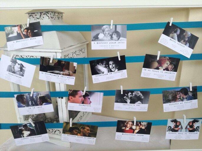 Impronte Sulle Nuvole - tableau mariage