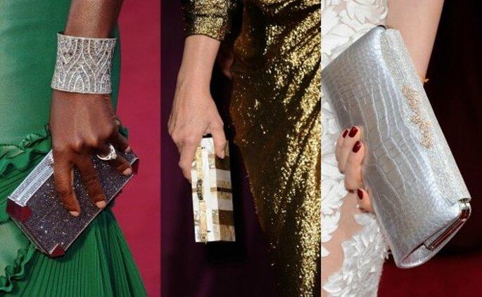 Accesorios para llevarte a una boda, inspiración en los Oscars 2012. Foto Oscars 2012