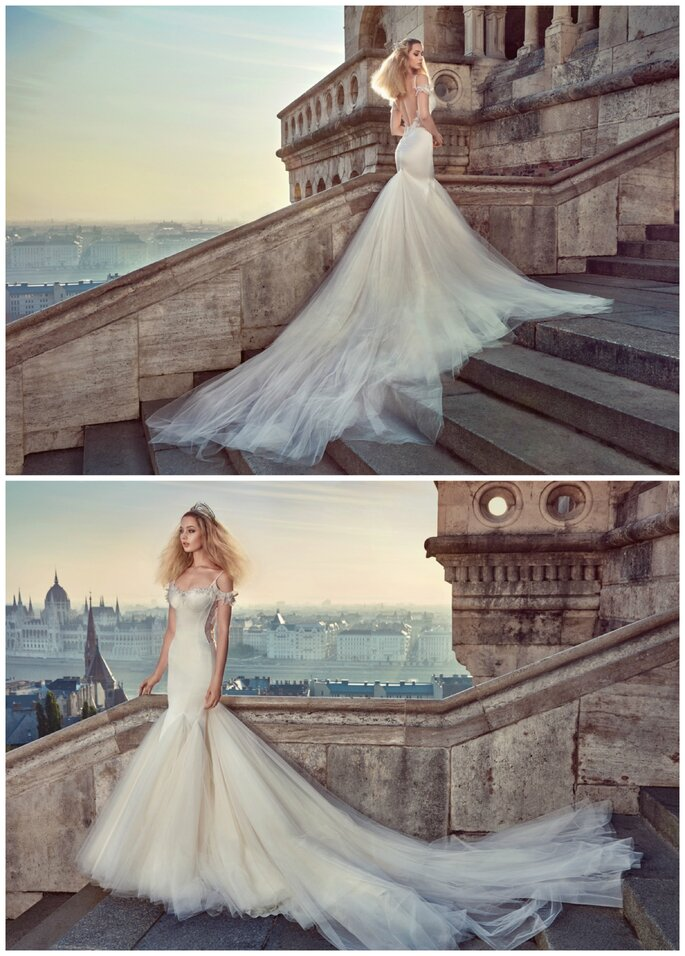 Image: Galia Lahav Ivory Tower Haute Couture Collection, dress 1604 Diana
