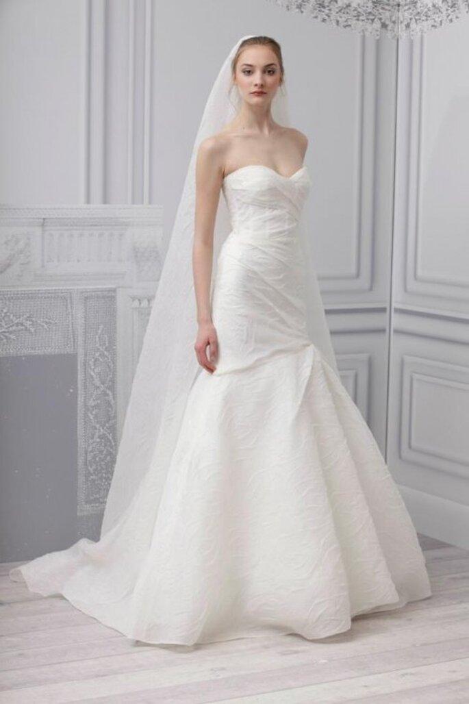 Vestido de novia similar al que usó Kristin Cavallari - Foto Monique Lhuillier