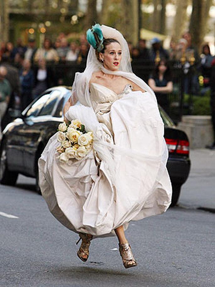 Vestido de novia de Carrie Bradshaw