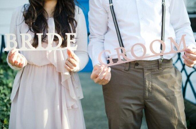 Consejos para integrar a tu prometido a la organización de la boda - Foto Nadia Meli