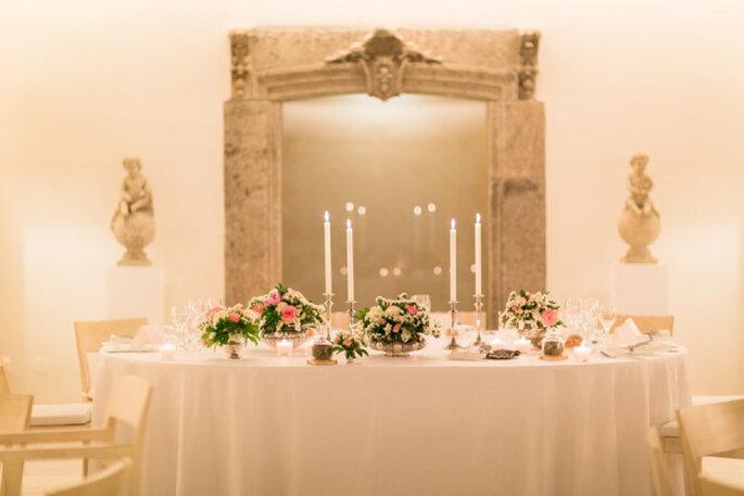 Boda romántica en Portugal. Foto: André Teixeira, Brancoprata