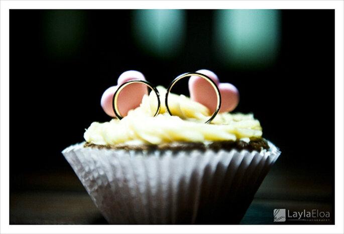 Até porta-alianças o Cupcake pode ser! Foto Layla Eloá a198d06c5f7