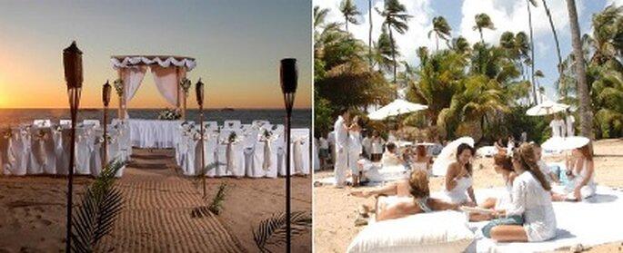 Recrea ambientes marinos para tu boda