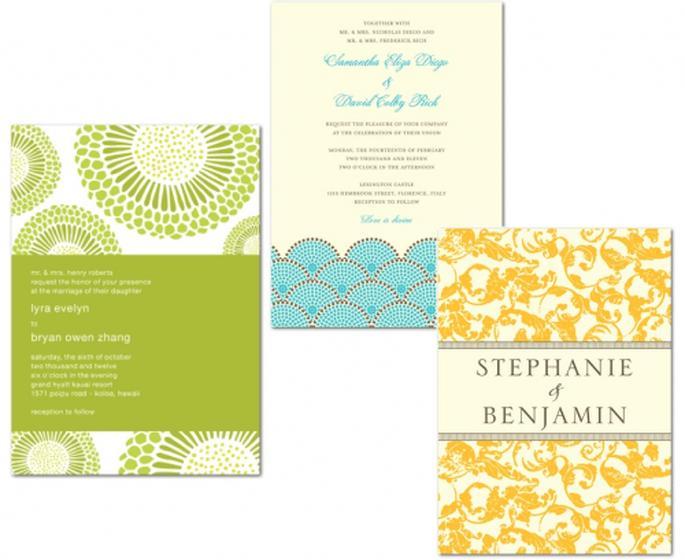 Invitaciones coloridas para tu boda en primavera - Foto Wedding Paper Divas