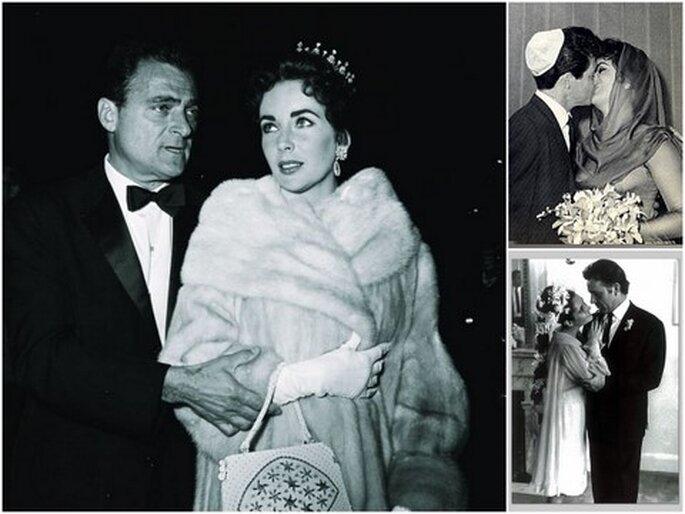 Los ocho matrimonios de Liz Taylor