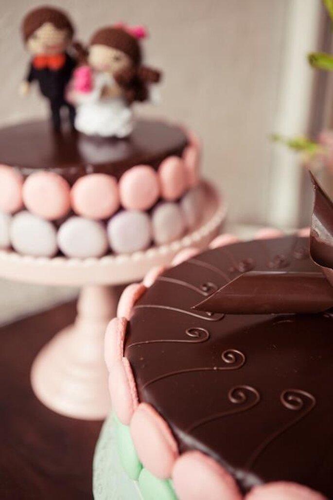 Marie Antoinette, a comer pastel