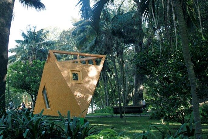 TreeHotel no Jardim da Estrela em Lisboa