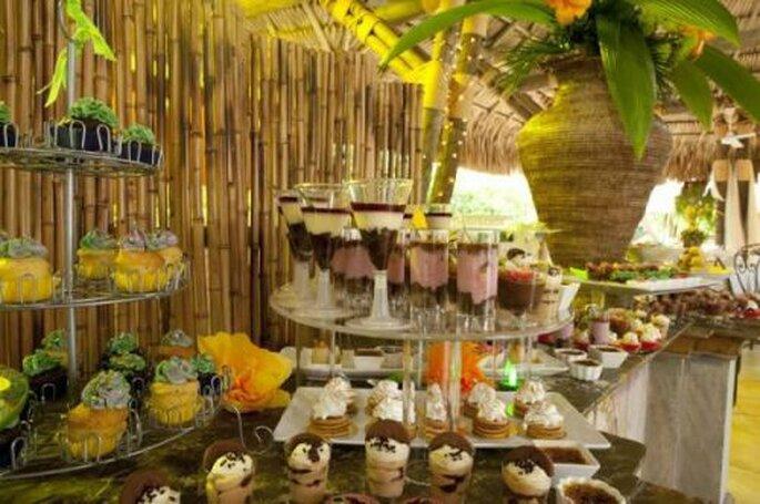 La mayoría de haciendas y fincas también ofrecen menús espaciales para bodas. Foto: Santa Fe Colonial Hotel+Spa