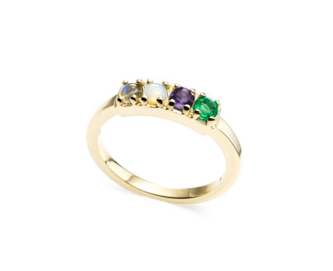 Code 18KT 'Love' Ring