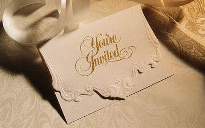 Primeros para tus invitaciones de boda