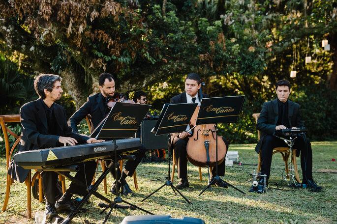 Música ao vivo para cerimônia