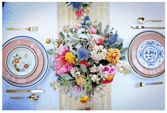 Vintage decor for your wedding - Photo: Robyn Preston Photography