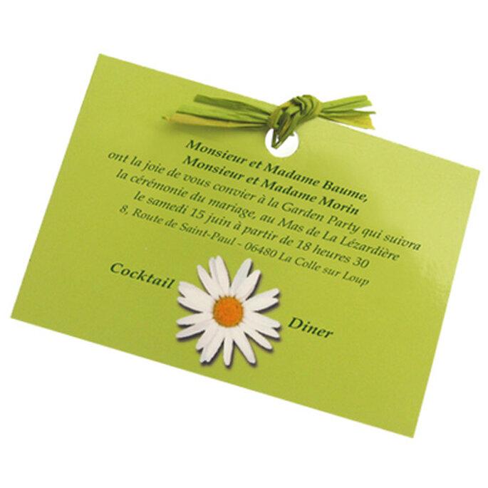 Faire part de mariage vert : la nature est à l'honneur !